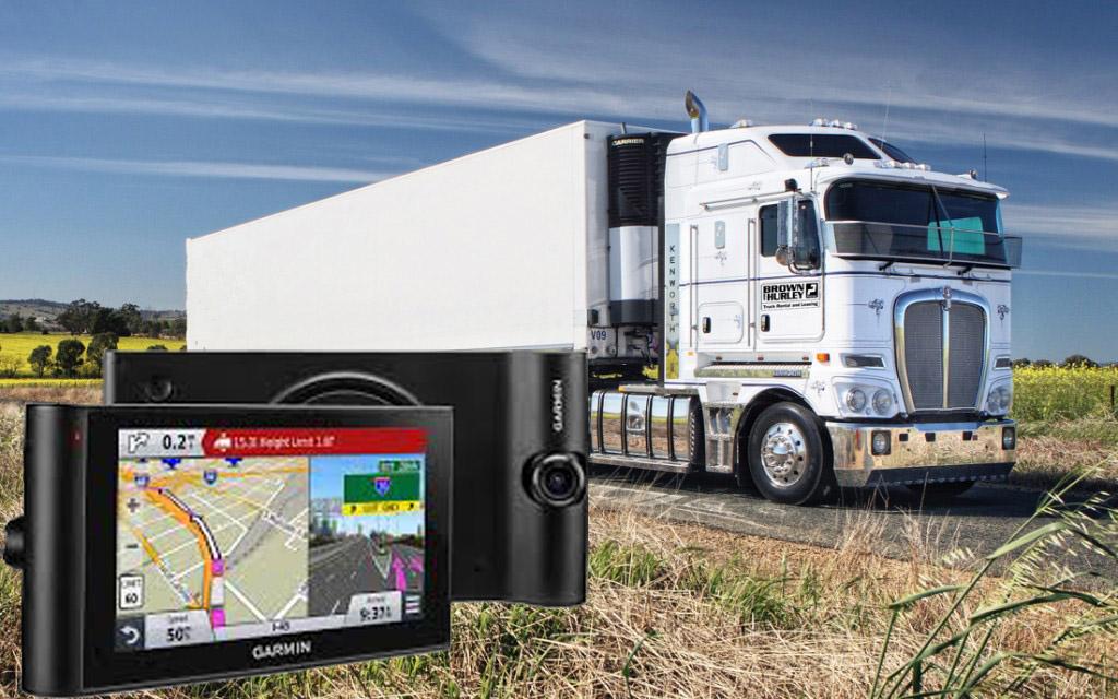 навигация за камион